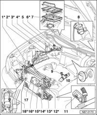 GOlf 4 1.9 SDI - czujnik ciśnienia