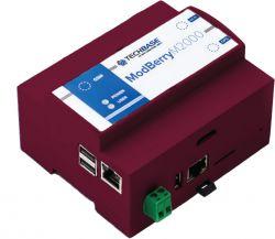 ModBerry M2000 - mały, oparty o UP Squared komputer DIN z ZigBee/LoRa/WMBus