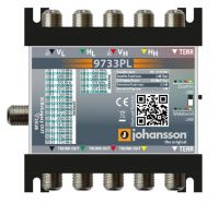 Johansson 9733PL - Multiswitch Unicable II + multiswitch