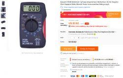 Bardzo tani Mini Multimetr DT83B - Test / Recenzja / Opis