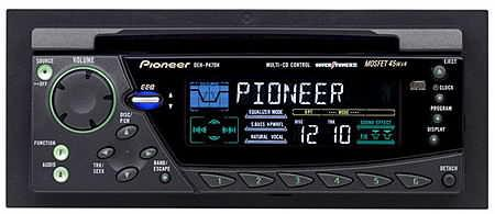 Pioneer DEH-P47DH CD, czy to jest kodowane radio ? zanim odłącze...