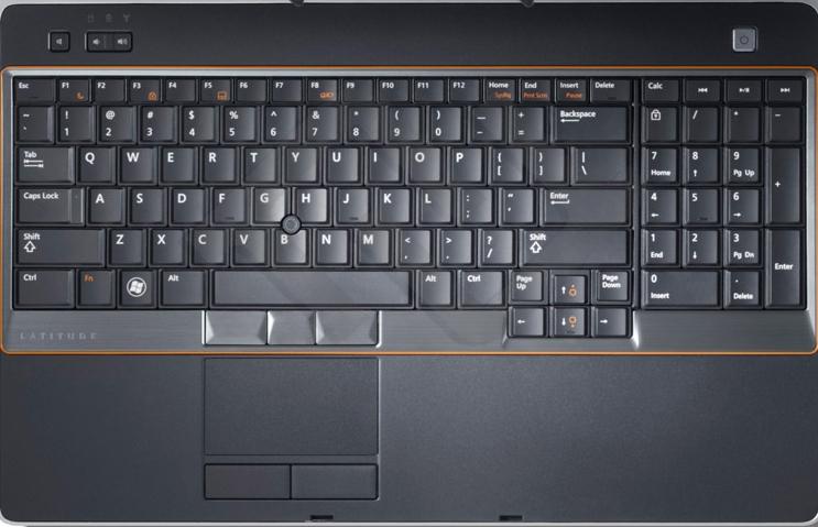 Dell Latitude E6520 - Jak w��czy� klawiatur� numeryczn�