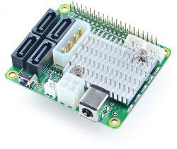 4x SATA HAT for NanoPi M4 - nakładka HAT do budowy NAS w oparciu o NanoPi M4
