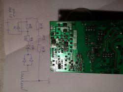 Philips MCD5110 - Uszkodzony zasilacz NEP5110