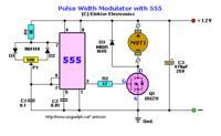 Regulator PWM 12V 300W. Regulacja jasności halogenów.