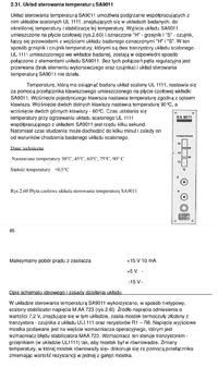 Termostat - Tranzystor w roli grzałki w układzie CA3045