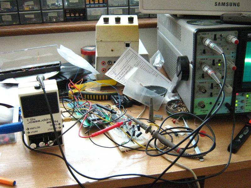 Zamienniki DIY uk�adu M5207L01 i innych do bramki BOSS NS-2
