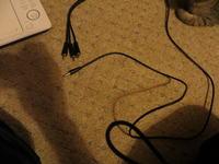 Podłączenie przenośnego dvd lg DP371B do tv samsung LE 22B
