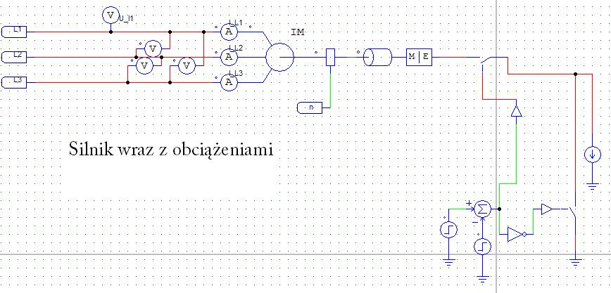 PSIM Regulacja pr�dko�ci silnika klatkowego U/f=const