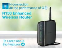 Belkin N150 (przez WiFi) jako AP dla Smart TV