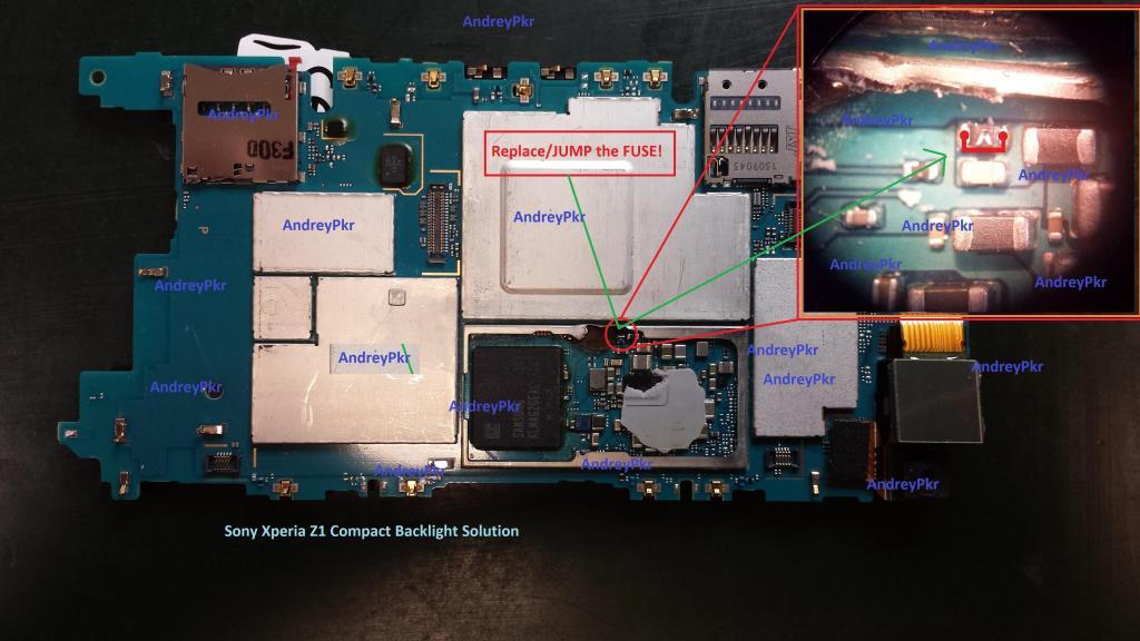 Sony Z1 Compact D5503 - S U0142abe Pod U015bwietlanie