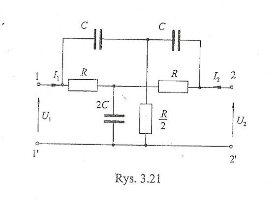 Wyznaczenie transmitancji korektora seektywnego (czw�rnika 2T)