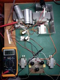 Wzmacniacz SE EL84 zniekształcenia i brak stereo