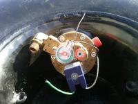 Pod��czenie elektrozaworu butli LPG