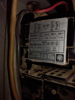 Podłączenie stycznika wentylatora 380V