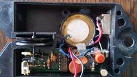Potencjometr do regulacji głośności w sygnalizatorze brań