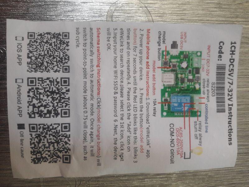 Witam, ktoś może wie jak podłączyć moduł WiFi Sonoff do Faac 414 brama 2 skrzyd
