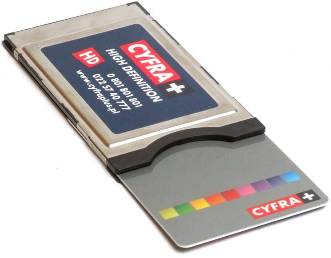 Modu� CI Cyfra+ HD oryginlny - Zawiesza si� z oryginaln� kart� Cyfra+