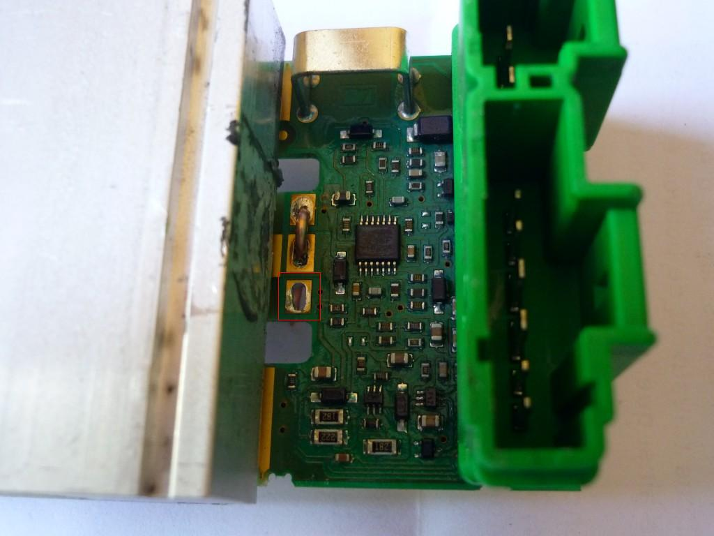 Citroen C5 - Sterownik klimatyzacji