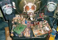 !PILNE! Co spowodowało uszkodzenie 2 tranzystorów w TV?