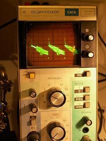 Monitor Daytek DT1531D - uszkodzone odchylanie pionowe.