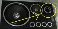 cewki do głośników wysokotonowych (gwizdek) tuba lub płaski