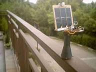 Robot-kwiatek zasilany energią słoneczną