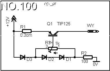 Zasilacz 12V z ograniczeniem prądowym