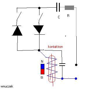 Jak ustawić magnes względem kontaktronu? sterownik H.SAACKE