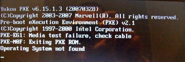 HDD Toshiba MK3252GSX i media test failure, check cable