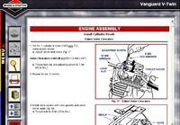 Briggs & Strattona V-Twin 18 HP- Słabo pali ciepły silni