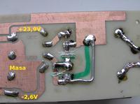 Jakiś błąd z stabilizatorze symetrycznym 7815/7915