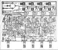 Budowa kolorofonu - diody sygnalizacyjne