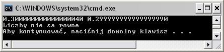 Prosty program w c nie do końca działa poprawnie