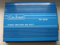 Zakłócenia.Wzmacniacz Car Sound PA-4010 + Mac Audio