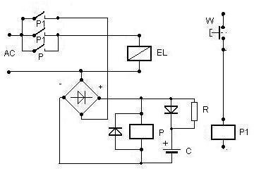 Migomat - kondensator przy elektrozaworku gazu