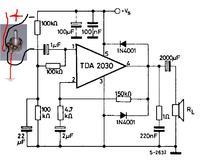 TDA2030, radiator? zasilanie? jak wlutować? potencjometr?