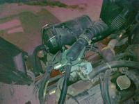 Instalacja w wózku widłowym Nissan18 z 2001roku, ZDJĘCIA