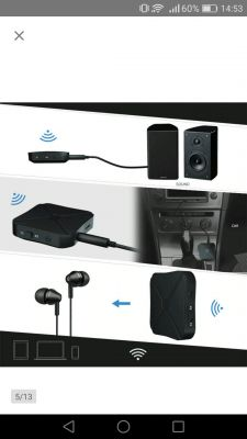 Podłączenie głośników Jack przez adapter bluetooth do Smart TV.