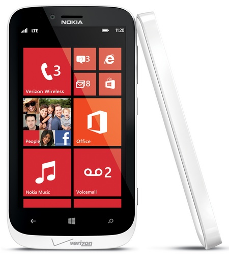 Nokia Lumia 822 z systemem Windows Phone od Verizon