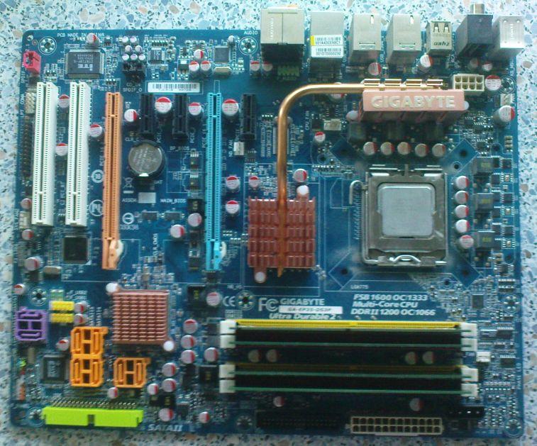 [Sprzedam] Zestaw p�yta GIGABYTE, Procesor i pami�� socket 775