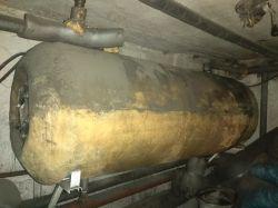 Bojler wymiennik ciepłej wody Stamar 140l wymiana