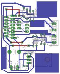 Sterownik silnika krokowego L298 + ATmega32