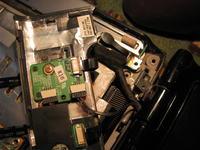 HP dv6500 , brak podświetlenia