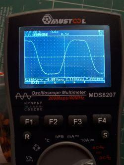 MUSTOOL MDS8207 - multimetr z trybem oscyloskopu. Pierwsze wrażenia.