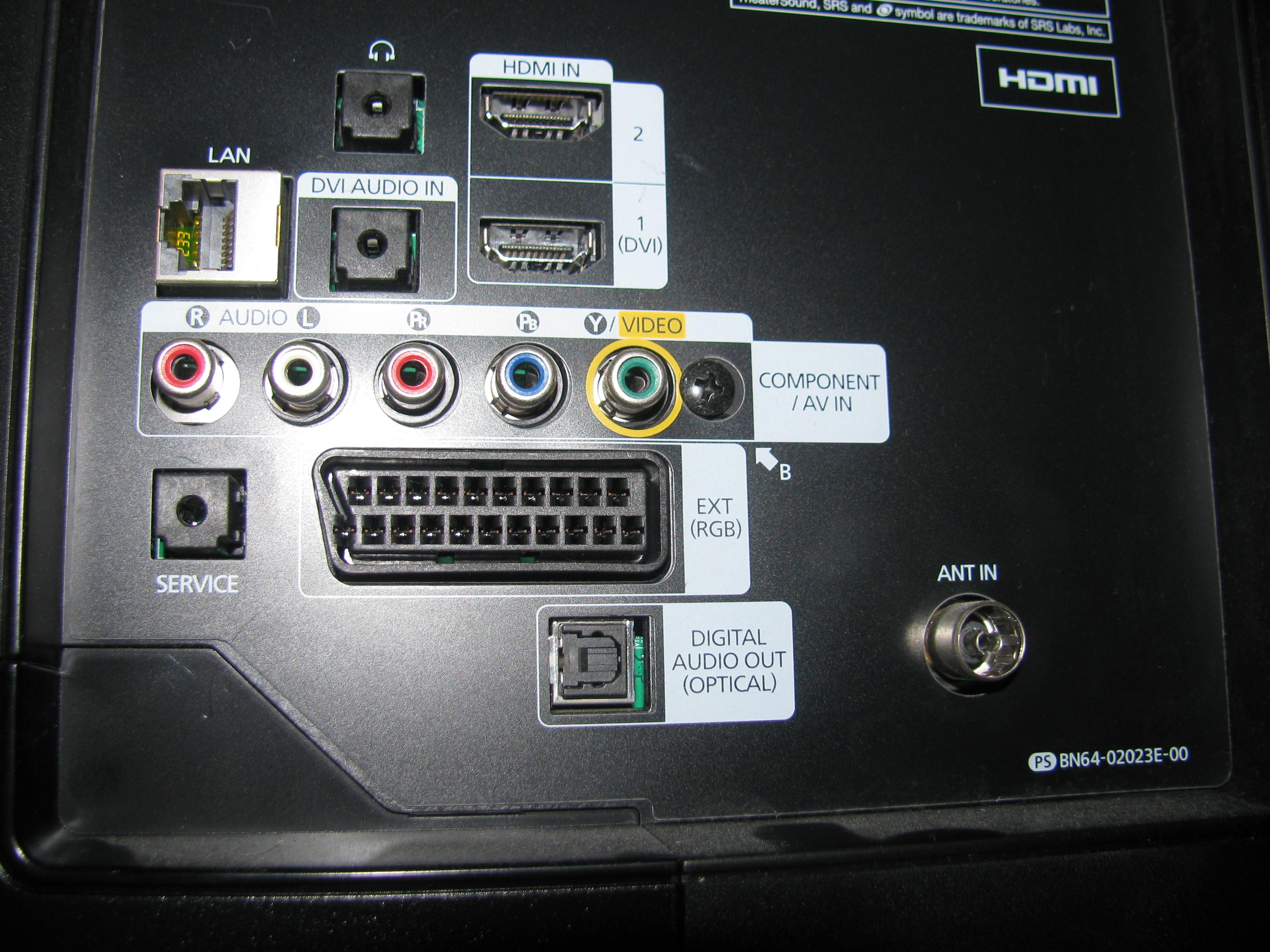 Tv Samsung i wie�a sony - Czy da si� pod��czy� wie�� sony do tv samsung?