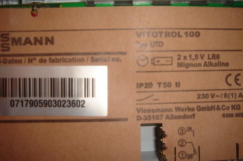 Vitodens 100 WB1 st. pogodowy + Vitotrol 100