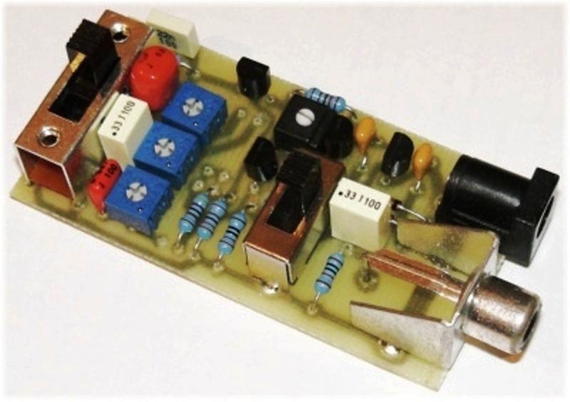 Prosty generator do badania uk�ad�w audio