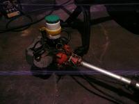 Silnik z kosy spalinowej z przek�adni� mini crossa