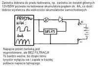 Prosty prostownik automatyczny - niski prąd ładownia.